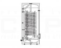 HP-500 hőszivattyús használati melegvíz tartály