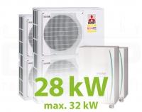 MC.28HZ PACK3 KASZKÁD hűtő-fűtő rendszer