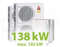 MC.138HZ PACK13 KASZKÁD hűtő-fűtő rendszer