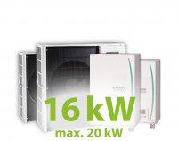 MC.16HZ PACK17 kaszkád hűtő-fűtő rendszer