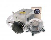 DN 160/2000W 2f hőmérséklet érzékelő fagyvédelmi elektromos előfűtő
