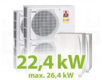 MC.22HZ PACK2 KASZKÁD hűtő-fűtő rendszer
