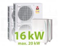 MC.16HZ PACK1 KASZKÁD hűtő-fűtő rendszer