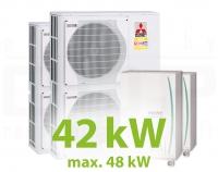 MC.42HZ PACK5 KASZKÁD hűtő-fűtő rendszer