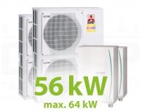 MC.56HZ PACK6 KASZKÁD hűtő-fűtő rendszer