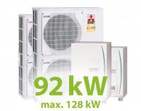 MC.92HZ PACK11 KASZKÁD hűtő-fűtő rendszer