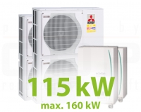 MC.115HZ PACK12 KASZKÁD hűtő-fűtő rendszer