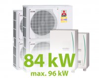 MC.84HZ PACK10 KASZKÁD hűtő-fűtő rendszer