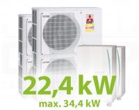 MH.22HZ PACK2 kaszkád fűtési rendszer