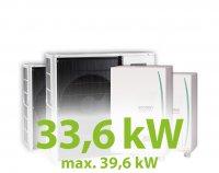 MC.34HZ PACK16 kaszkád hűtő-fűtő rendszer