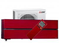 MSZ/MUZ-LN50VG (rubinvörös) Diamond klíma szett